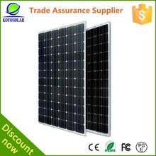 15w mono best price per watt small solar panels