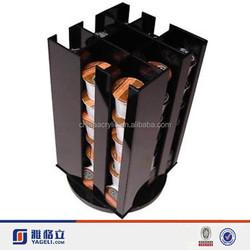 Horizontal or Vertical Rotating Acrylic Coffee Capsule and Tea Bag Display - holds up to 20 Keurig K-Cups