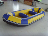 2015 high quality new design Rubber Boat with Electric Motor for Inflatable Boat