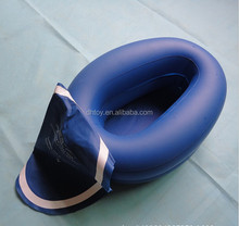 Cheap inflatable travel toilet seat with cover