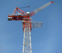 New Travelling luffing tower crane with high quality