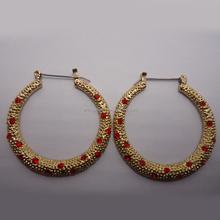 Hot sale in alibaba gold plating zinc alloy ballerina earring fantasy