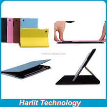 Magnetic Leather Case For iPad Air Color PU Leather Case For iPad Air2 OEM Leather Case Branded
