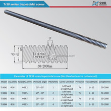 Tr38 stainless threaded rod from China manufacturer