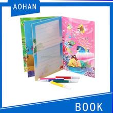 paper jigsaw puzzle/puzzle game/3d puzzle with color pen