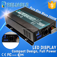 Manufacturer Supply 2000W Pure Sine Wave Inverter Power Inverter High Quality Full Power 2000w DC AC Inverter