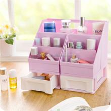 Hot Sale Desktop DIY Plastic Cosmetic Storage Box Makeup Organizer