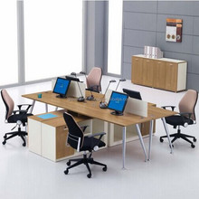 Simple office desk desk table of modern office secretary