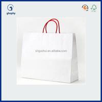 small paper gift bag , laminated paper bag , luxury laminated paper bag