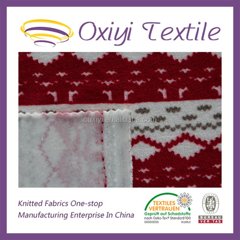 Tecido de malha de veludo de algodão pima