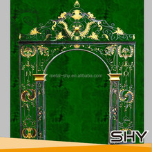 2014 Hot Sale Wrought Iron Garden Arches for Sale