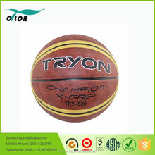 Promotion custom Cheap price rubber basketball color