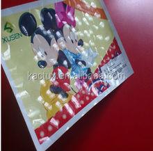 PVC 3D Cold laminating Film/photo 3D lamination film/self adhesive pvc decorative film