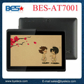 Alta tecnología Allwinner / Acción doble núcleo Android 4.4 wifi bluetooth Tableta de 7 pulgadas