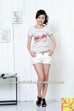 Girls beaded fashion tshirt