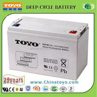 Solar Battery and UPS Battery 12V 100AH Sealed Lead Acid Battery