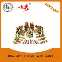 XLPE Power Cable YJV 3.6/6KV 4X240 braided power cable