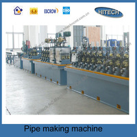 BG50 0.5-1.5mm high frequency welded pipe making machine or pipe making machine or pipe mill with best price for sale