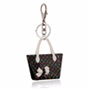 Colorful bow handbag fashion key chain,Hot sale metal key chain (swtaa1110)