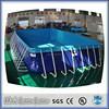 2015 new design good quality intex swimming pools 7.46m*3.98m*1.32m