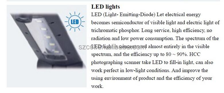 2015 shenzhen New arrival dual camera 5MP intelligent scanner P02-A4