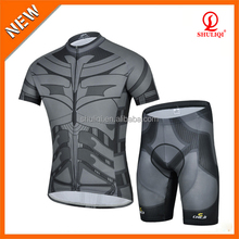 OEM design printed bike wear cycling jersey sets, wholesale short sleeve Custom cycling wear