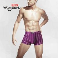 2015 hottest modal stripe bodybuilding underwear in zhejiang