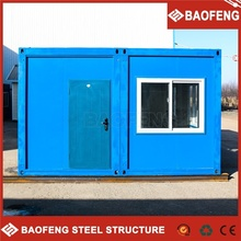 high-qualified luxury foldable prefab container inside