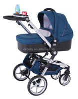 European Design Baby Doll Pram with Eco-friendly Fabric