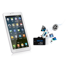 phone call tablets with 5.0mp camera Intel 64-bit Atom Quad-core Android 5.17 inch tablet pc