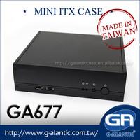 G-Alantic GA677 mini itx pc case manufacturer in Taiwan