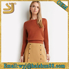 Women's long sleeve knitted sweater pullover textile