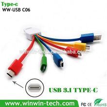 Usb 3.1 tipo C tipo C adaptador
