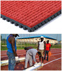 Manufacturer Of Environmental Protection Prefabricated Rubber Athletic Running Track Surface For IAAF 400 Meter Standard Field