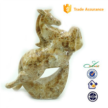 2015 business gifts Home living resin glossy stone horse statue
