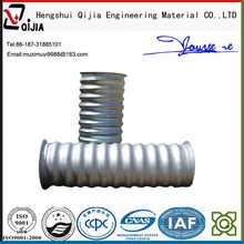 large diameter corrugated drainage pipe flexible corrugated steel conduit pipes