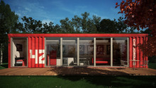2015 Latest modular container house for living/renting/hotel/office/showroom/store
