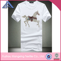 Hot sales Custom White club Polyester Quick Dry Breathable 3D Printed Tshirt