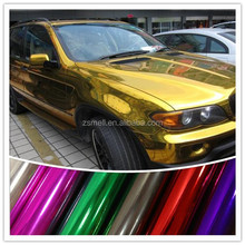 Zsmell 2015 Newes good quality 1.52x30m car body film brushed silver car color changing vinyl film well sale