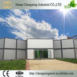 large stock economical recyclable shipping model house layout in shanghai