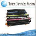 láser color compatible q2680a toner para hp