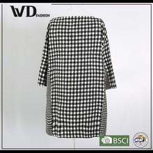 New products 2015 innovative product of stripe girls dust coat