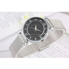 Best Quartz Women and Men's Mesh Band Super Thin Design Watch Stainless steel watch