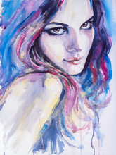 Skilled Artist Handmade Excellent Detail Beautiful Europe Lady Portrait Oil Painting On Canvas Abstract Woman Portrait Painting