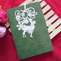 High quality luxury existing christmas card wholesale