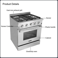 Hyxion - thor kitchen 30 inch gas ranges with grill