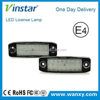New product led license plate lamp for Hyundai Sonata car number plate light