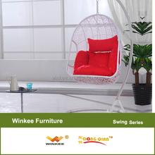 New arrival indoor rattan swing chair
