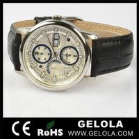 Alibaba china hotsell red mechanical watch 2014