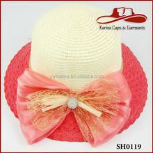 girls high quality sun cheap straw hat wholesale